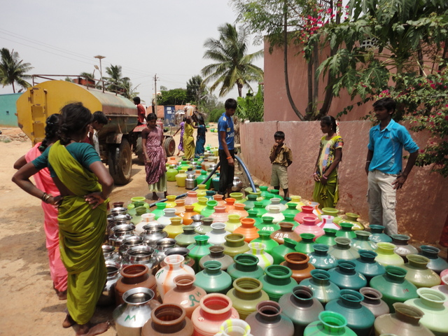Provide drinking water to rural community in Malur panchayat